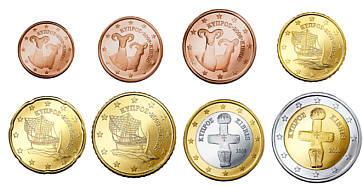 Münzen Zypern